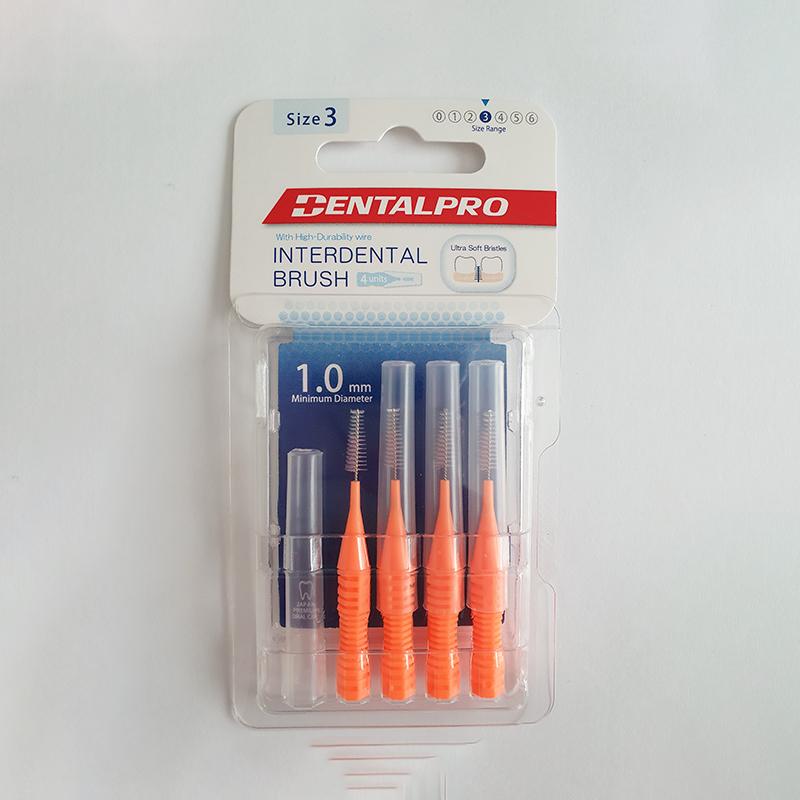 DENTALPRO I-formos tarpdančių šepetėliai